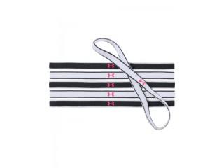 Čelenky Under Armour Mini Graphic HB (6pk) černo-bílé