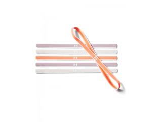 Čelenky Under Armour Mini Graphic HB (6pk) oranžovo-šedé
