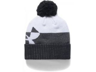 Dětská zimní čepice Under Armour Boy's Pom Beanie Upd šedá