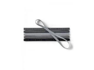 Čelenky dámské Under Armour Mini Graphic HB (6pk) šedé