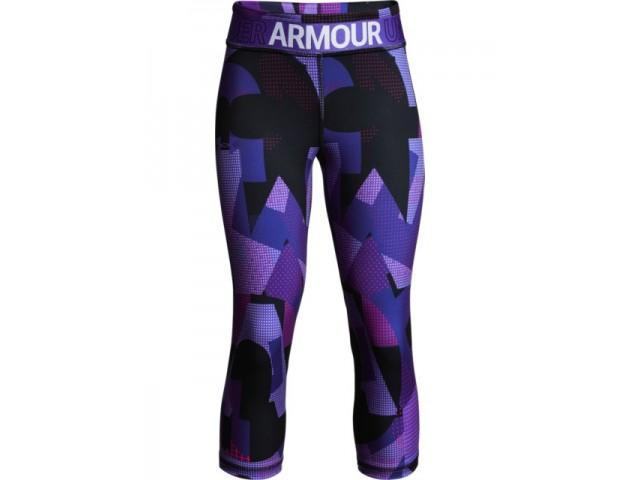 Dívčí Under Armour Armour Capri fialové  0aeef8a7d2