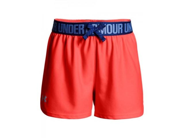 ece67a992ea Dívčí kraťasy Under Armour Play Up Shorts oranžové