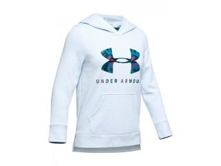 Dívčí mikina Under Armour Rival Print Fill Logo Hoody