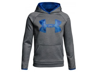 Dětská mikina Under Armour AF Storm Big Logo Hoody šedá