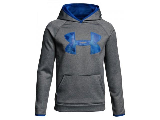 Dětská mikina Under Armour AF Storm Big Logo Hoody šedá  b771f91566d